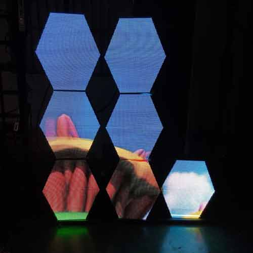 LED六角屏